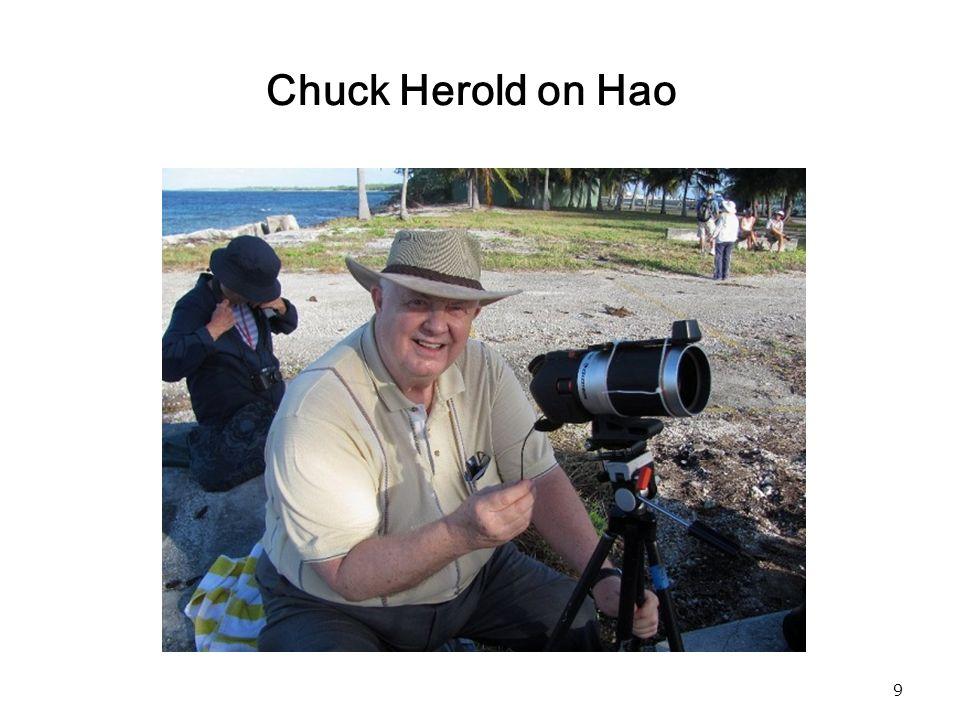 9 Chuck Herold on Hao
