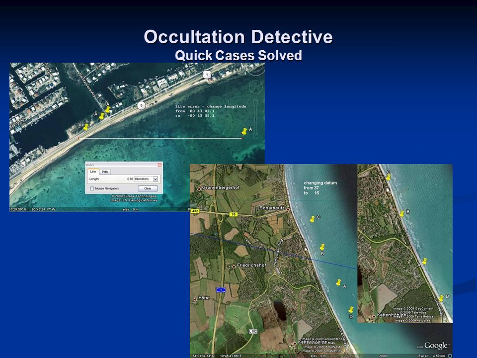 Occultation Detective Quick Cases Solved