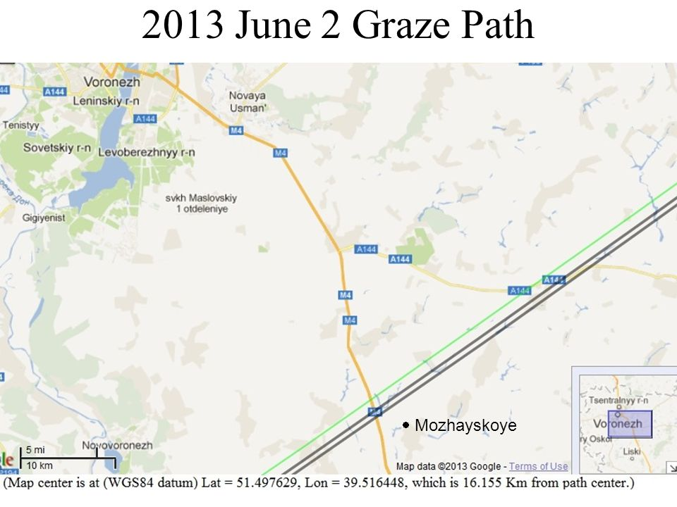 2013 June 2 Graze Path Mozhayskoye
