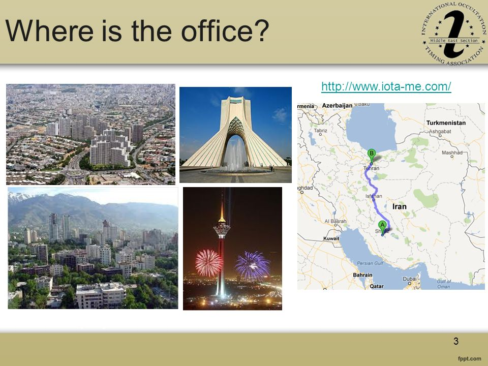 Where is the office? http://www.iota-me.com/ 3