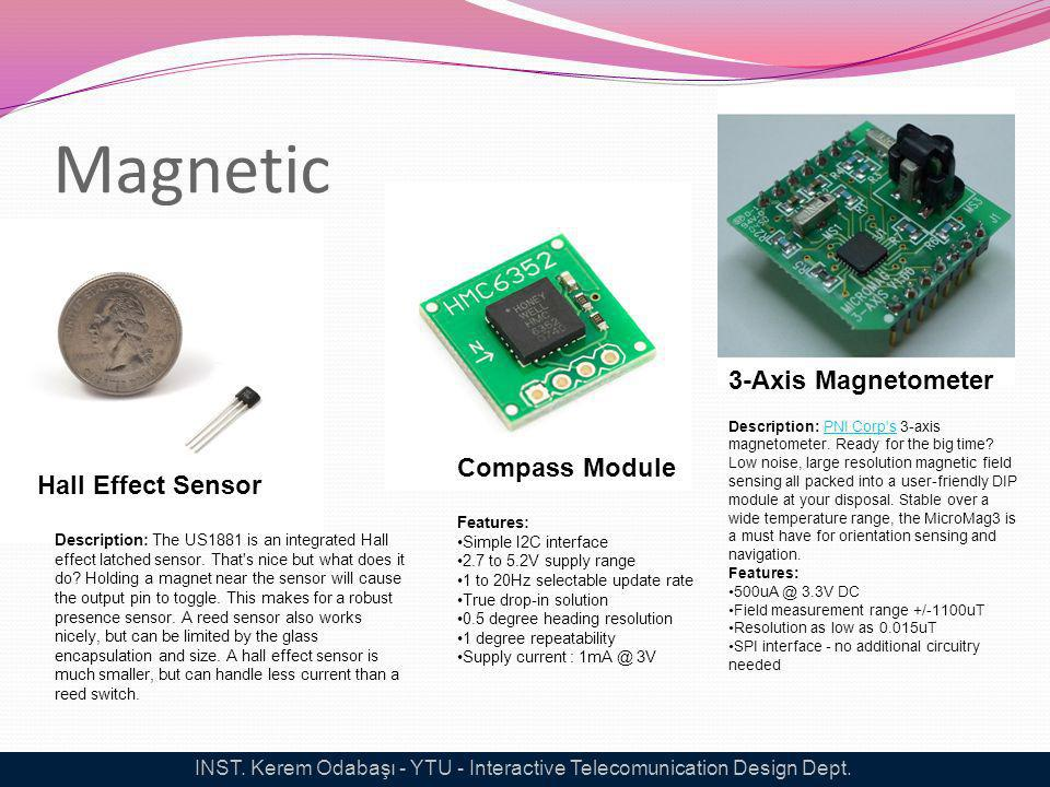 Magnetic Hall Effect Sensor Description: The US1881 is an integrated Hall effect latched sensor. That's nice but what does it do? Holding a magnet nea