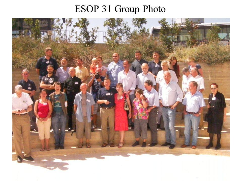 ESOP 31 Group Photo