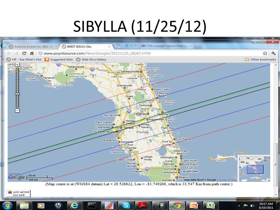SIBYLLA (11/25/12)