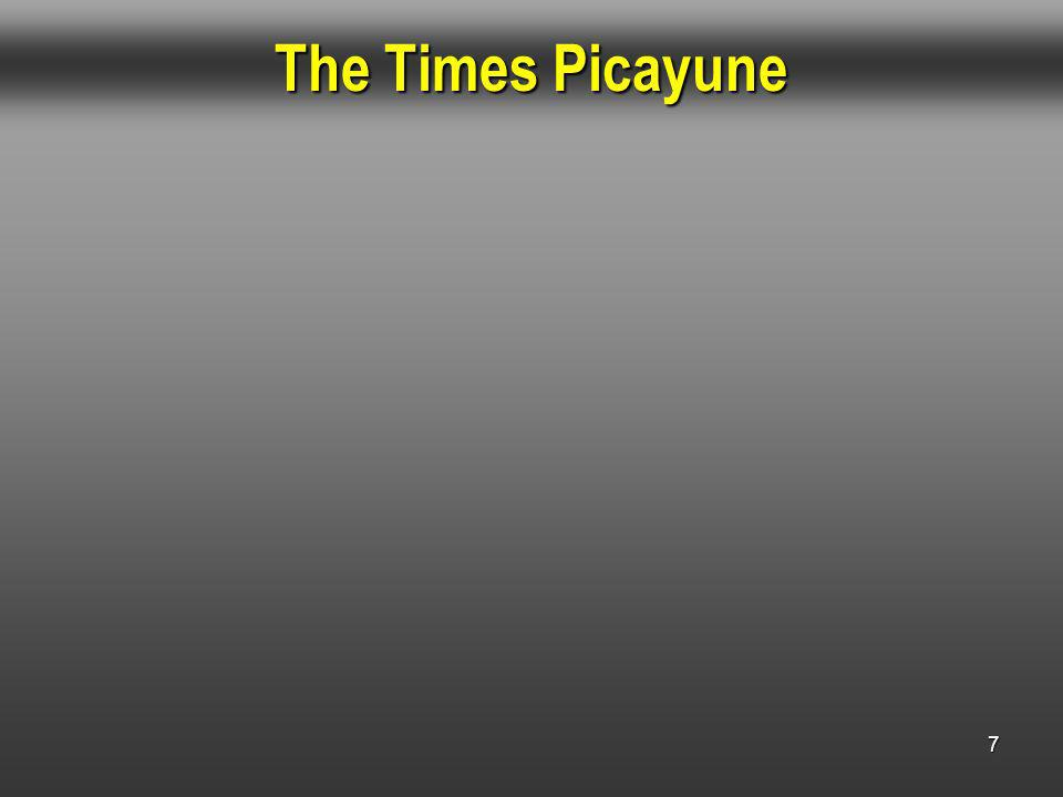 7 The Times Picayune
