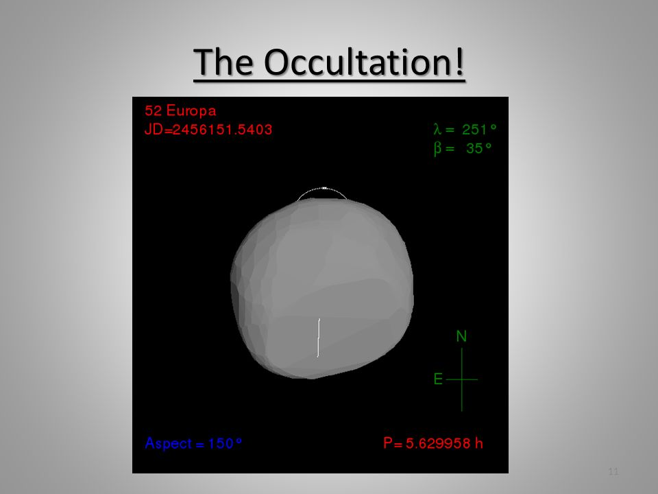 The Occultation! 11