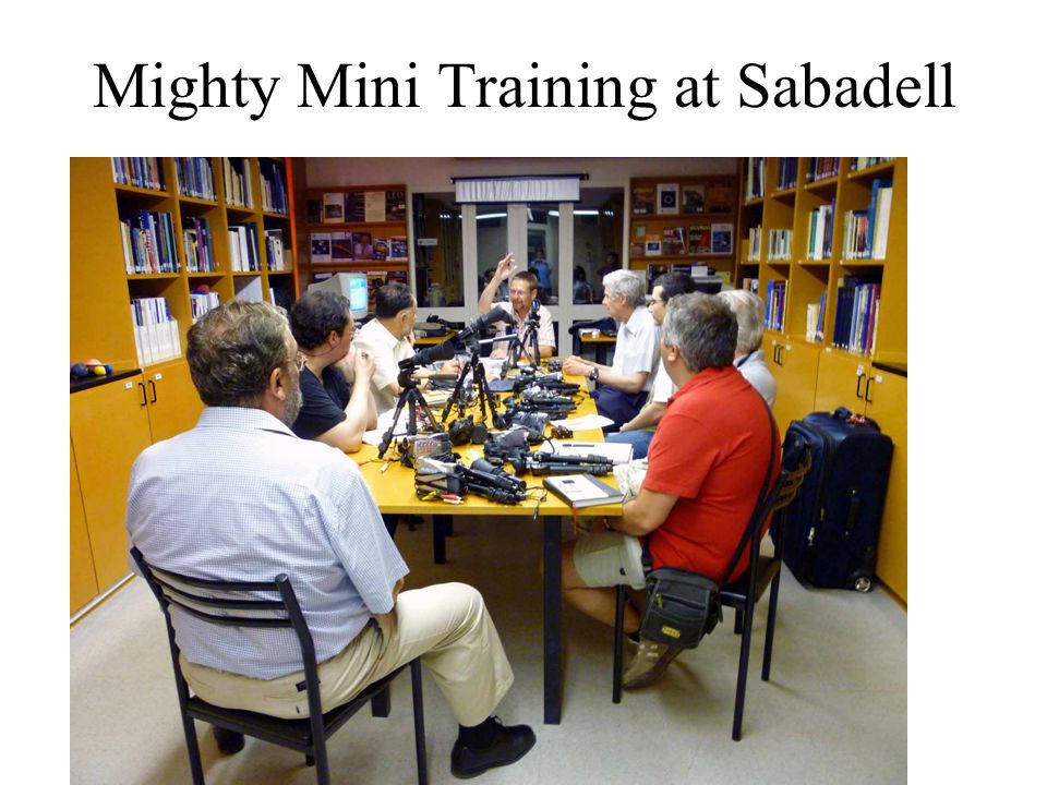 Mighty Mini Training at Sabadell