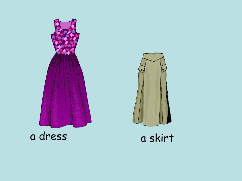 a dress a skirt