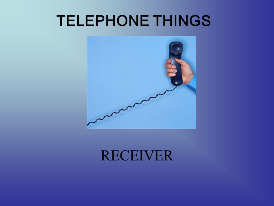 TELEPHONE THINGS CORD