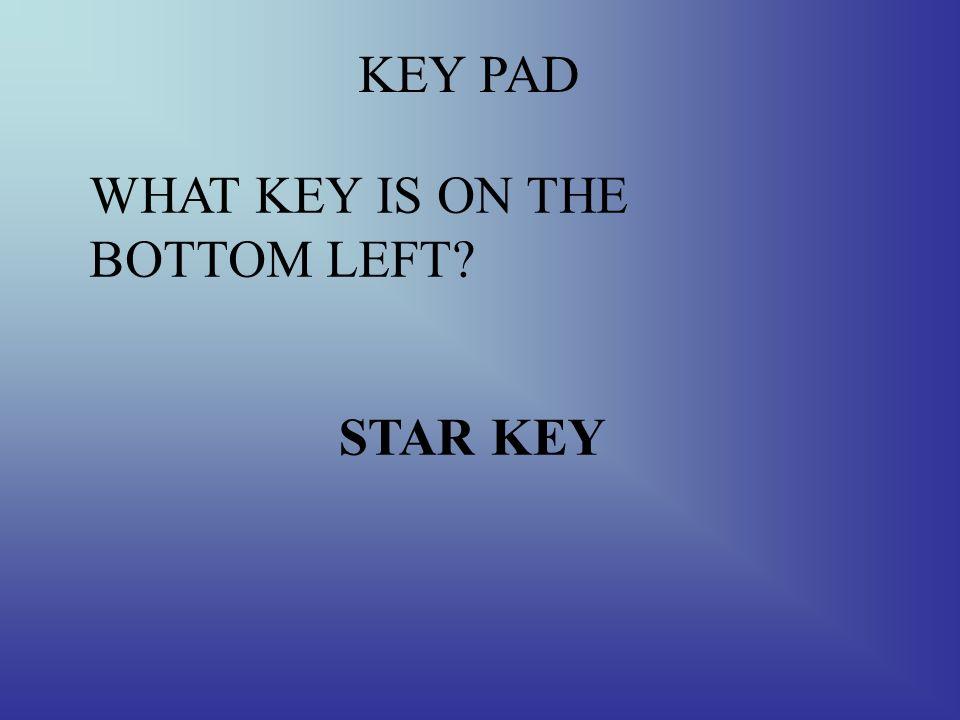 KEY PAD