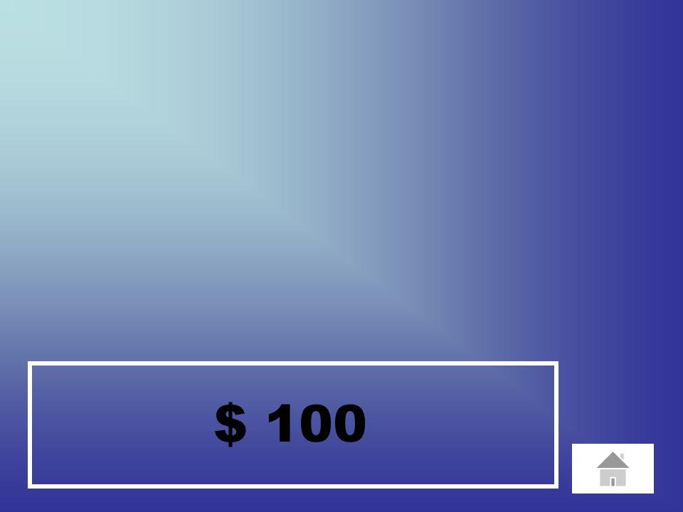 $ 100