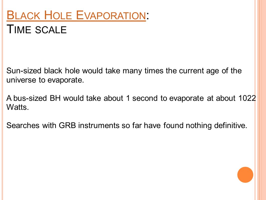 B LACK H OLE : I NFORMATION P ARADOXI NFORMATION P ARADOX Does the radiation that comes out of a black hole carry the information of the matter that fell in.