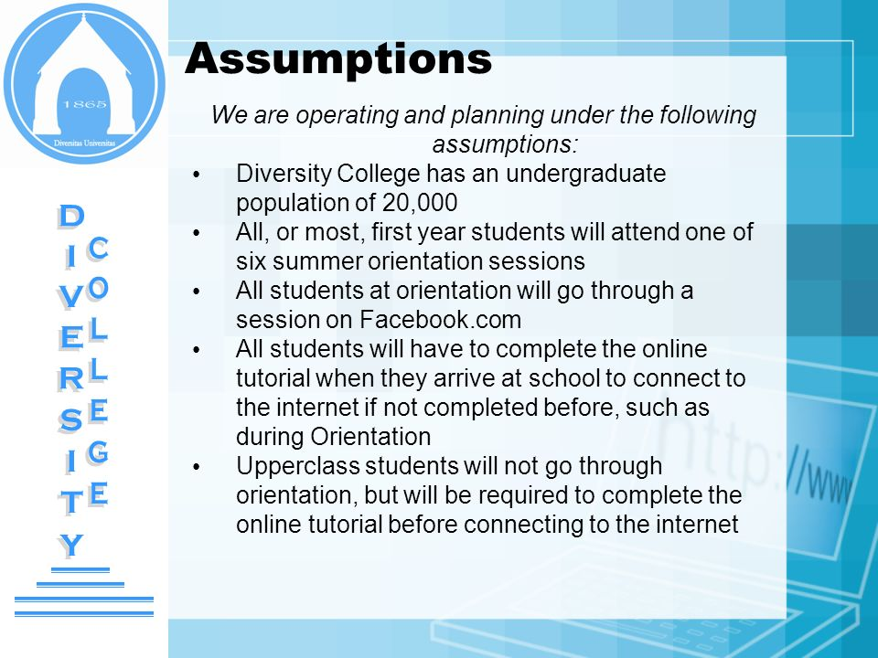 Assessment Cont.Who will be involved.