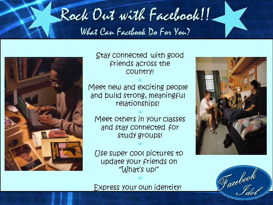 Rock Out with Facebook!. Rock Out with Facebook!.
