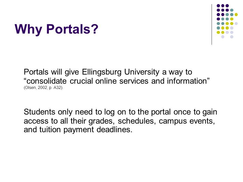 Why Portals.