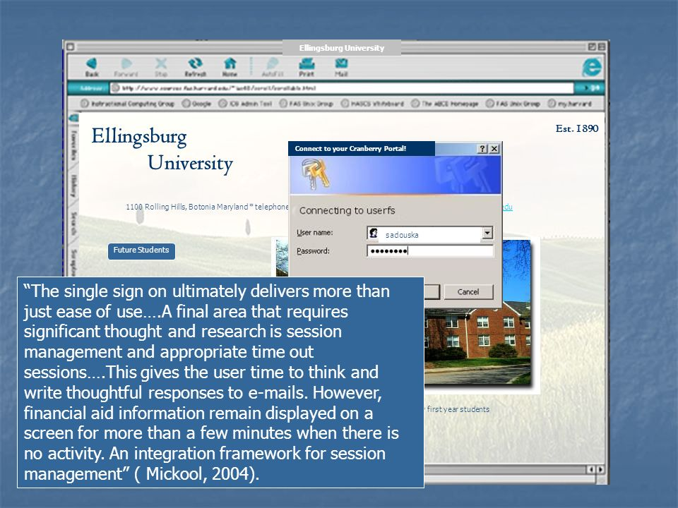 Ellingsburg University Est.