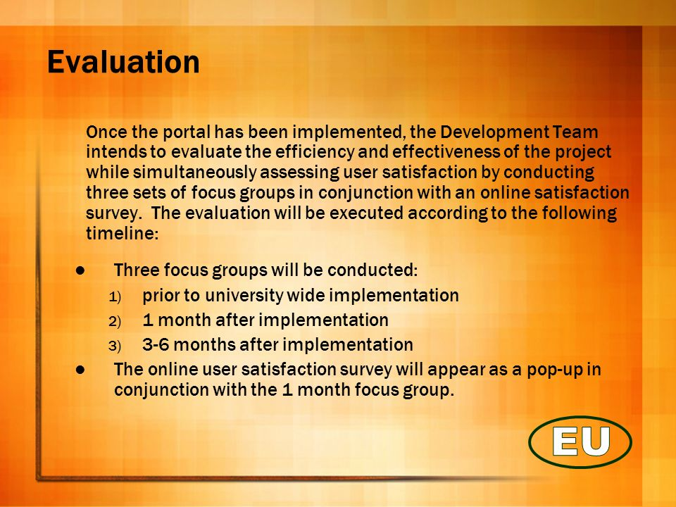 Technology Based Systems In creating the portal initiative, the Development Team has identified four technology based systems that are essential components for implementation.