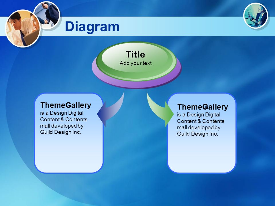 Diagram ThemeGallery is a Design Digital Content & Contents mall developed by Guild Design Inc. Title Add your text ThemeGallery is a Design Digital C