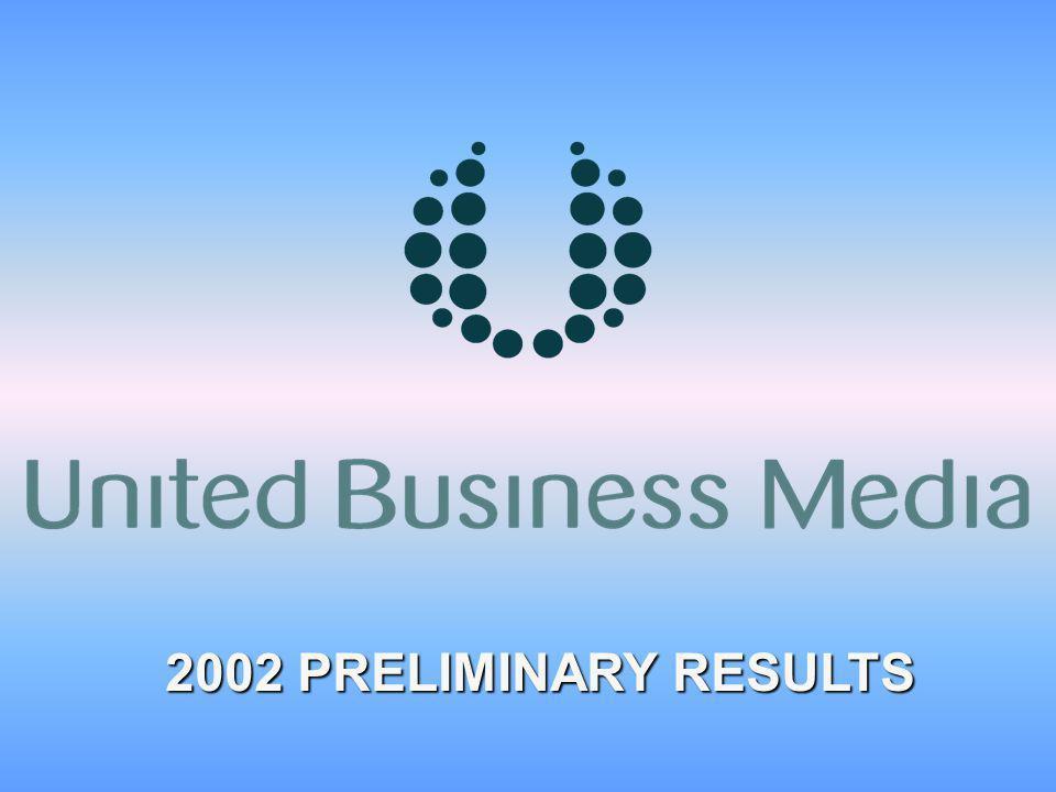 2002 PRELIMINARY RESULTS