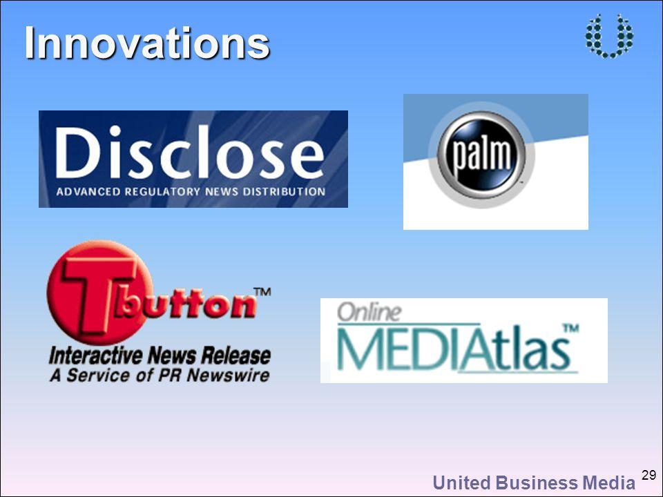 United Business Media 29Innovations
