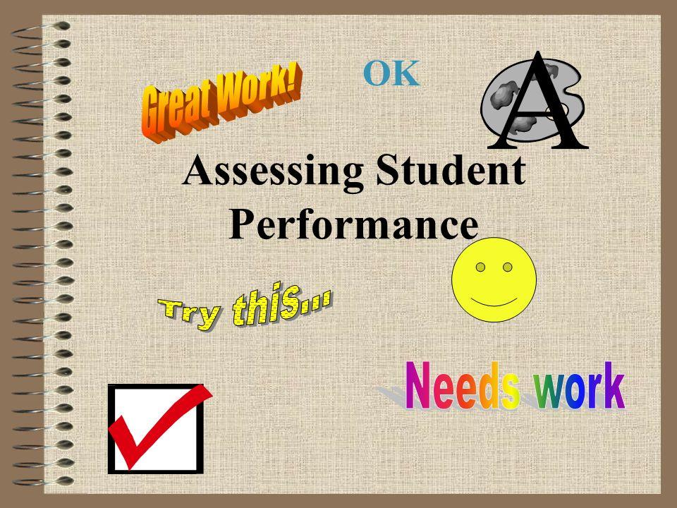 Assessing Student Performance OK