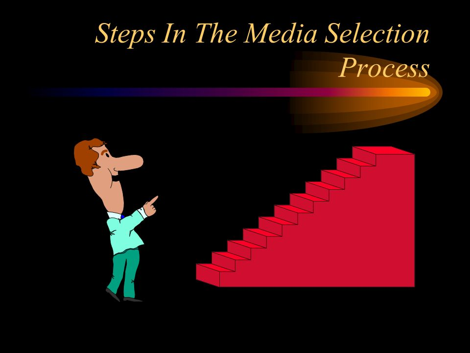 Steps In The Media Selection Process