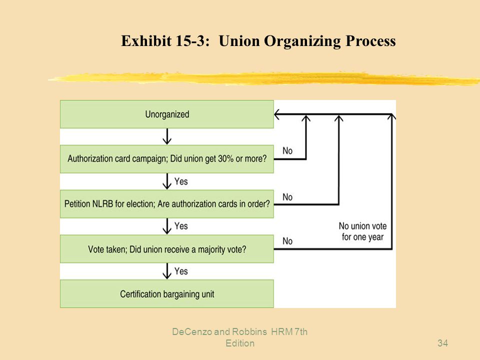 DeCenzo and Robbins HRM 7th Edition33 Exhibit 15-2: Union Security and Related Provisions