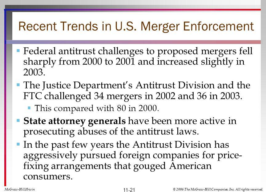 Recent Trends in U.S.