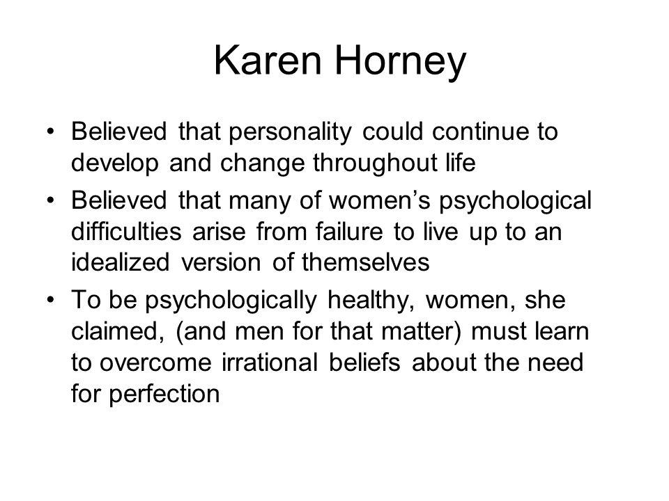 karen honey psychology