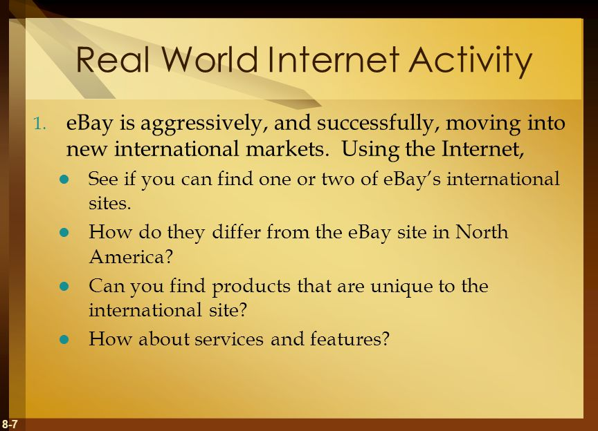 8-28 Real World Group Activity Each day, data is becoming more and more complex.