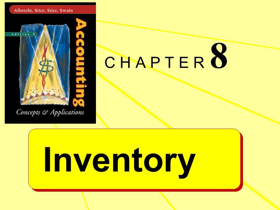 Inventory C H A P T E R 8
