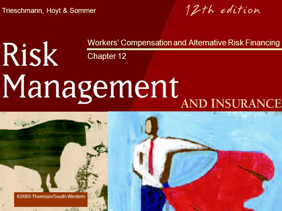 Trieschmann, Hoyt & Sommer Workers Compensation and Alternative Risk Financing Chapter 12 ©2005 Thomson/South-Western