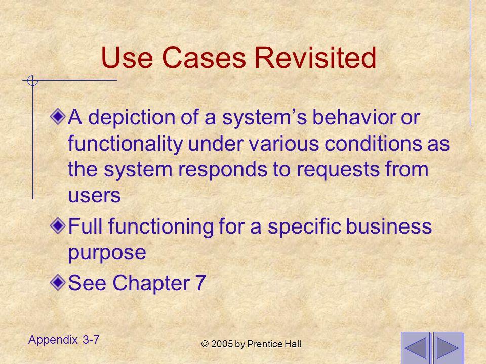© 2005 by Prentice Hall Appendix 3-18 time lifeline activation message object