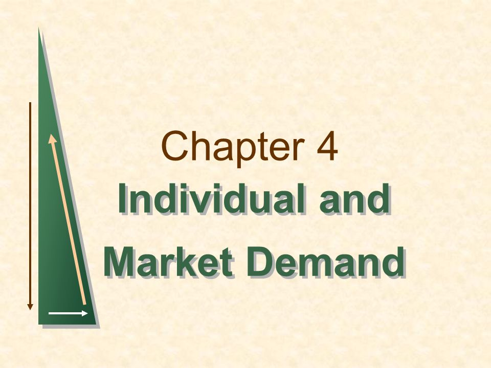 Chapter 4Slide 62 Network Externalities Up to this point we have assumed that peoples demands for a good are independent of one another.