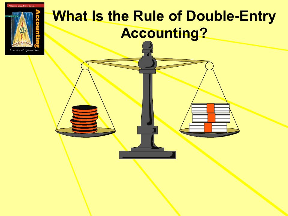 What Is the Rule of Double-Entry Accounting?
