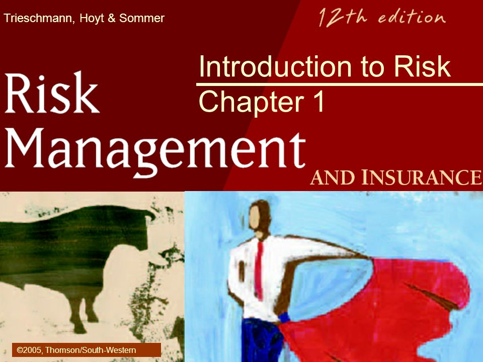 Trieschmann, Hoyt & Sommer Introduction to Risk Chapter 1 ©2005, Thomson/South-Western