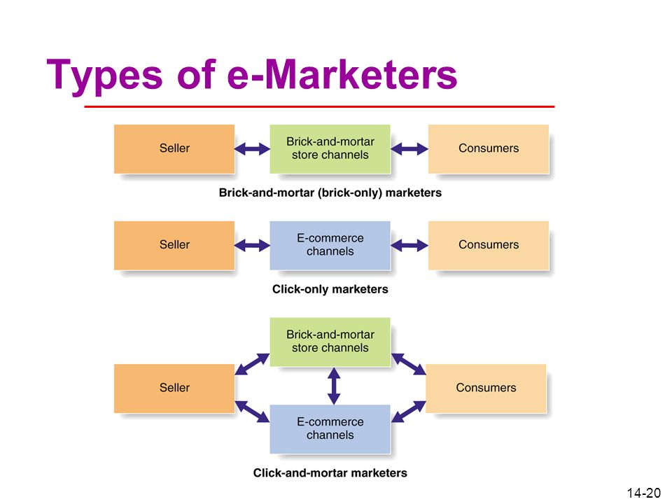 14-20 Types of e-Marketers