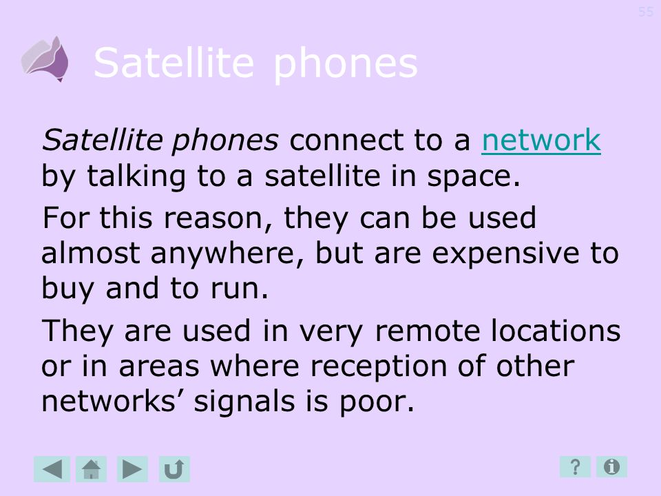 54 S Satellite phones Service Provider SIM card Skype SMS Speed dialling
