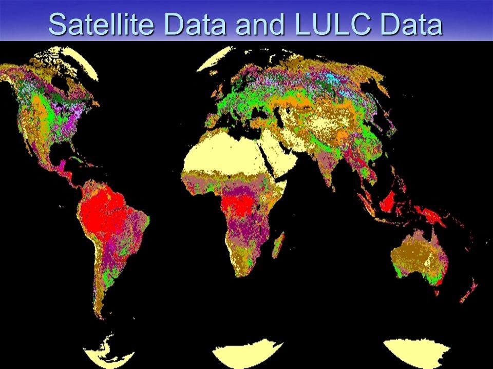 Satellite Data and LULC Data