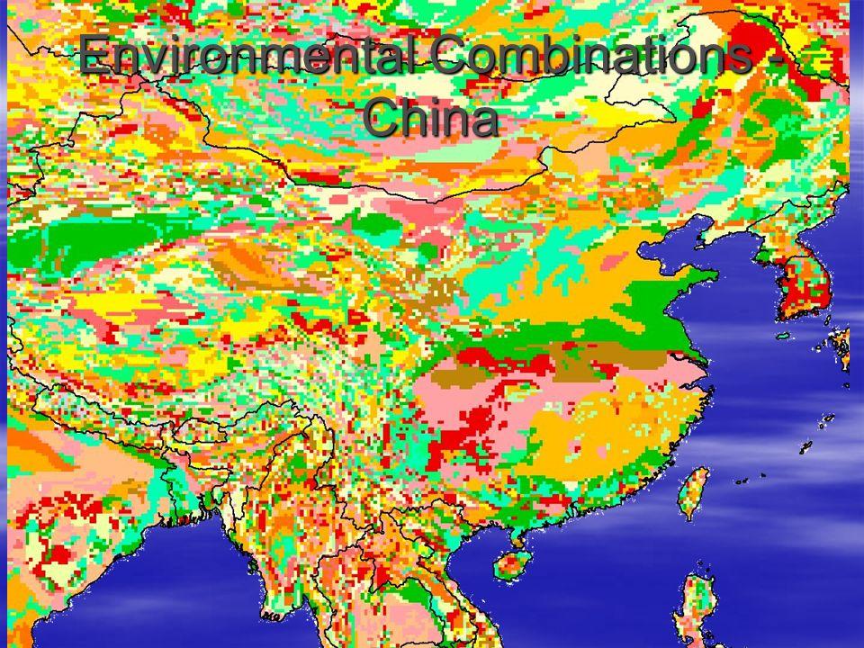 Environmental Combinations - China