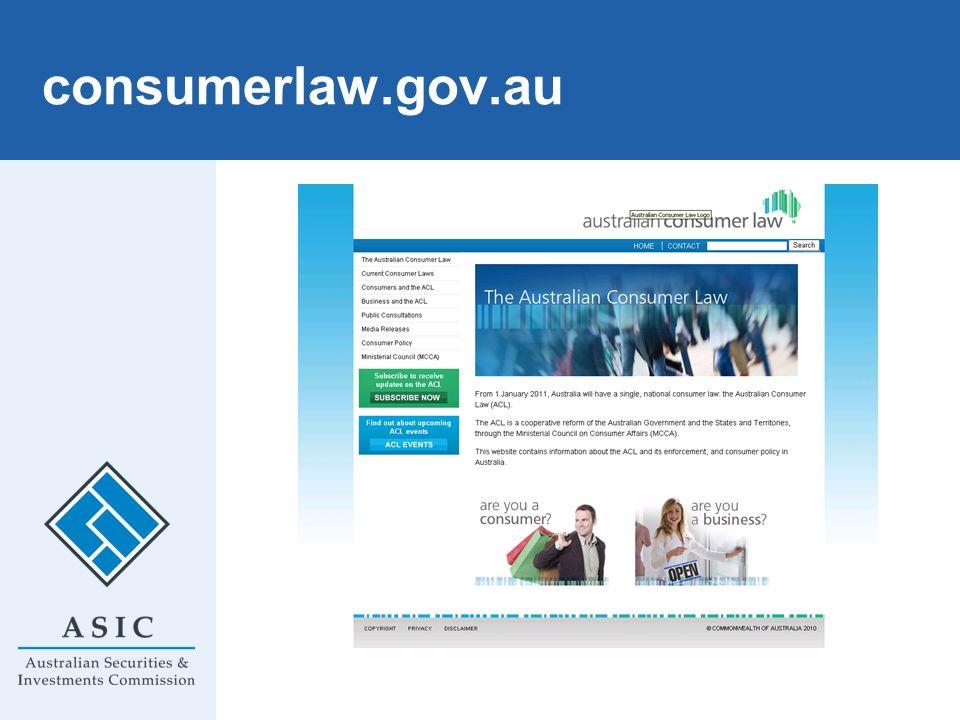 consumerlaw.gov.au