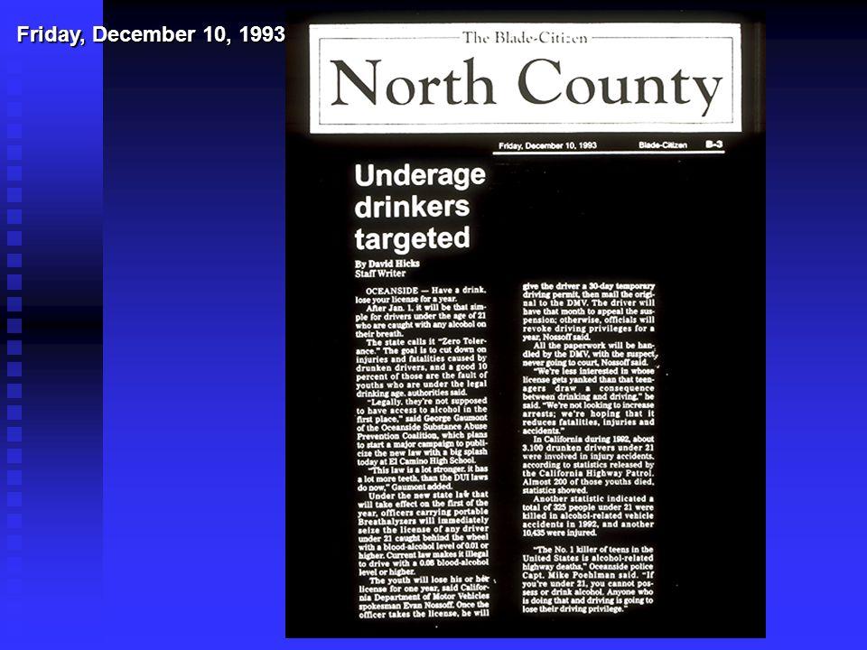 Friday, December 10, 1993