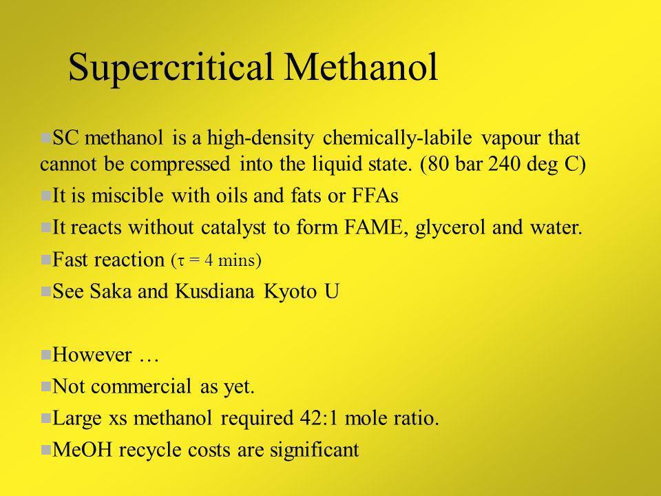 Innovative Processes Supercritical Heterogeneous catalysts