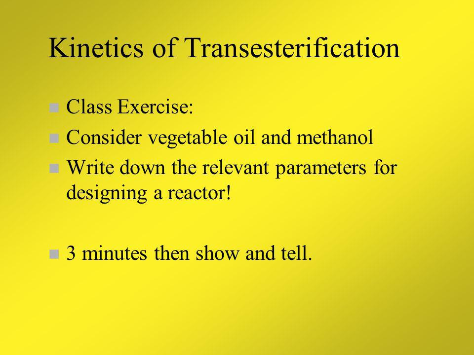 Part 2: Class Exercises Kinetics Commercial Examples