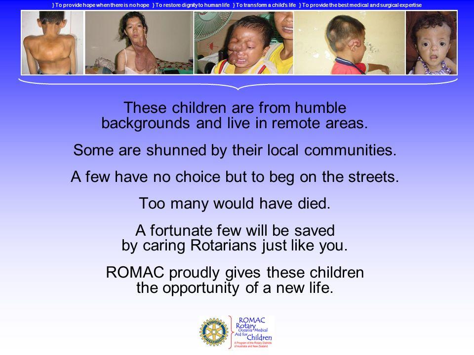 } Why help these Children.