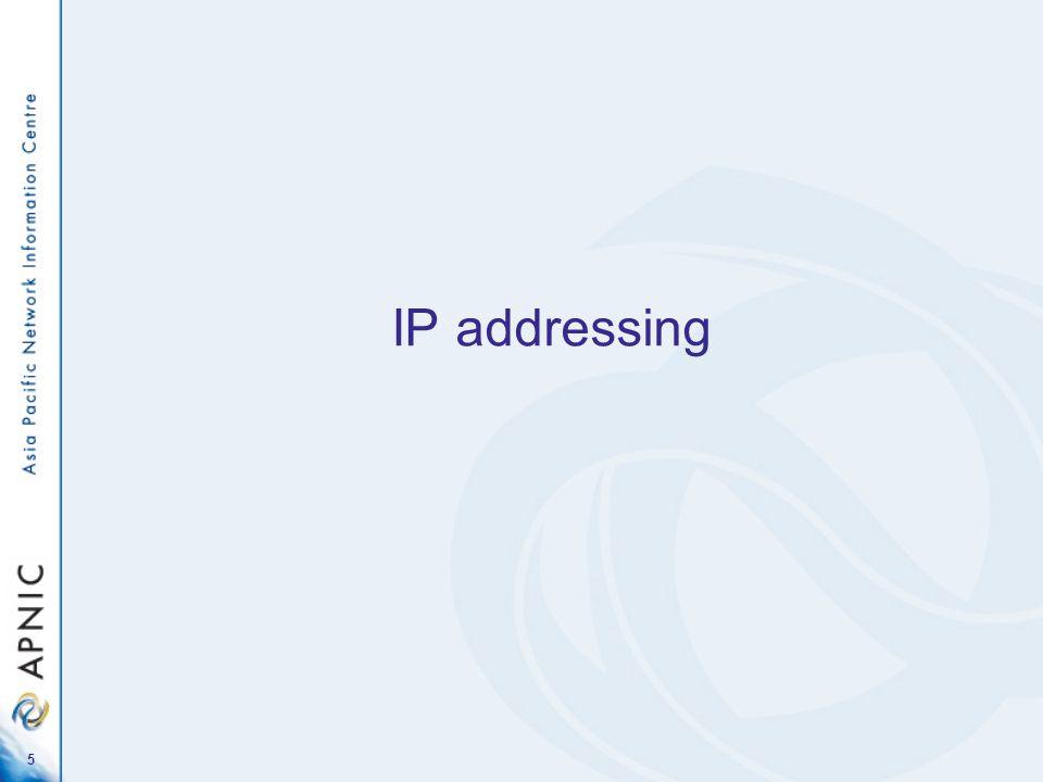 5 IP addressing