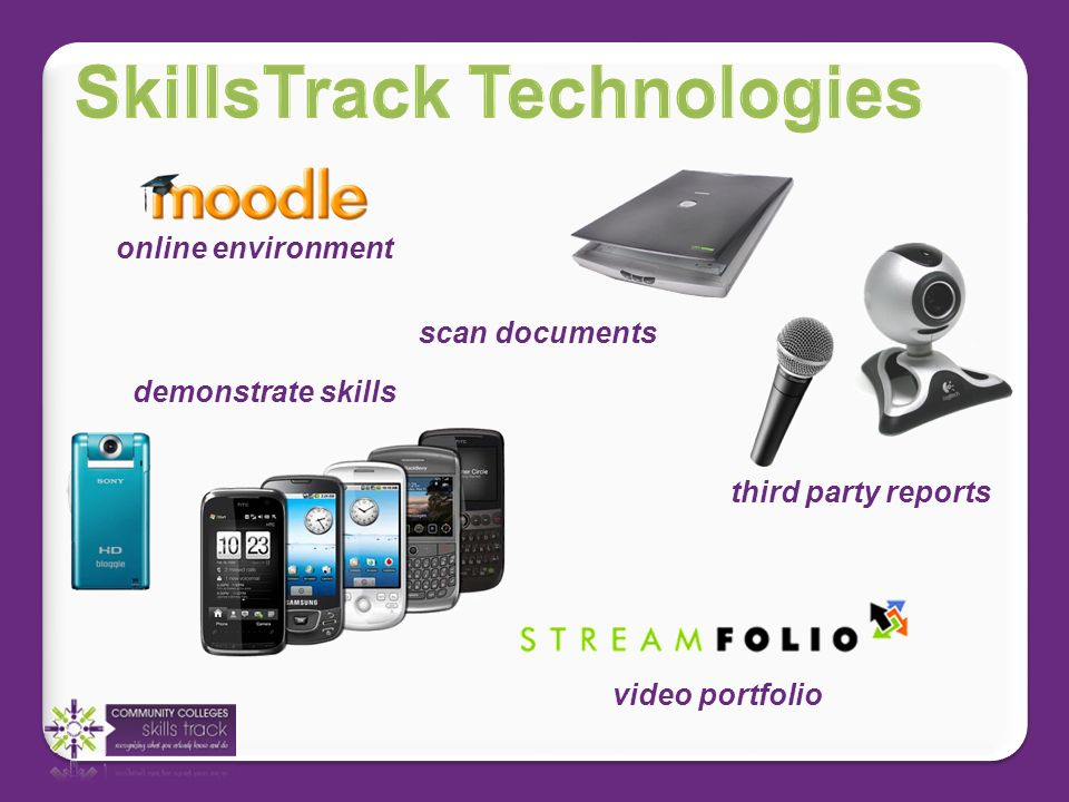 online environment scan documents demonstrate skills third party reports video portfolio