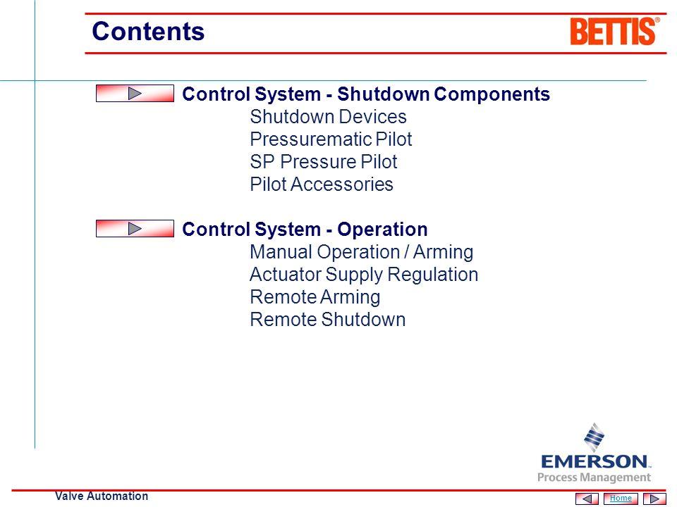 [File Name or Event] Emerson Confidential 27-Jun-01, Slide 2 Valve Automation Contents SCH Actuator Design Philosophy Key Features Control System - St
