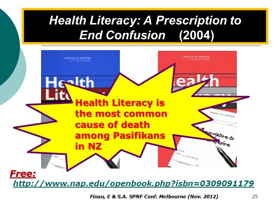 Conclusion & Summary Ethnic specific Health literacy services Essential; Ethnic specific Health literacy services Essential; Health Literacy is protec