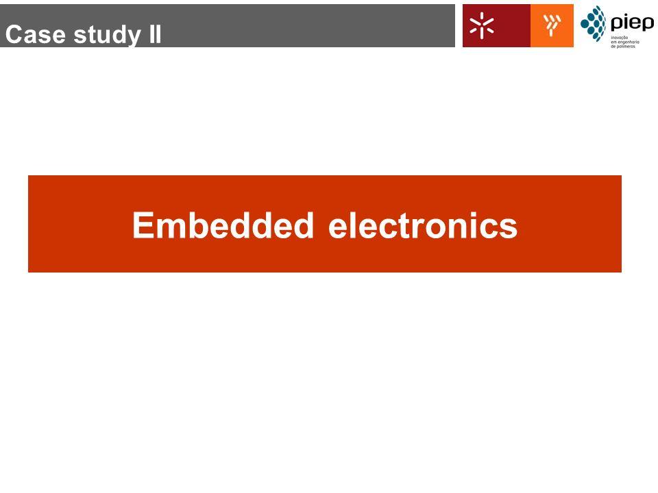 Embedded electronics Case study II