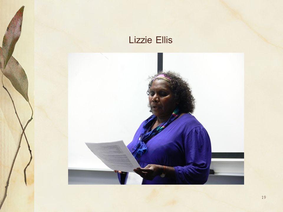 19 Lizzie Ellis